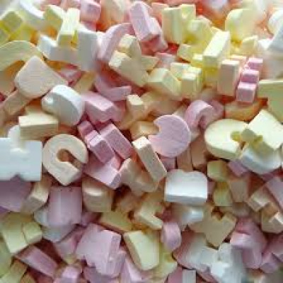 Candy Letters - 1.75kg pack