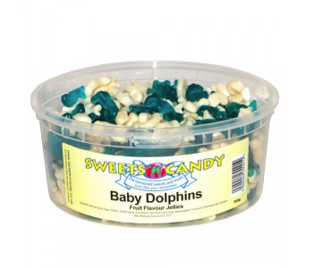 Baby Dolphins Fruit Flavour Jellies - 750g Tub