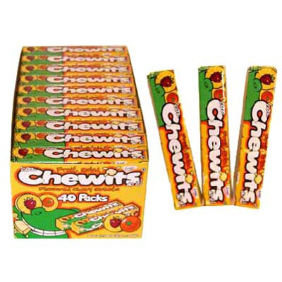 Chewits Fruit Salad Flavoured Sweets - 40 Pack
