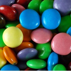 Milk Chocolate Beans ( Similar to Smarties) - 3Kg Bulk Pack