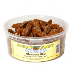 Chocolate Mice Chocolate Flavour Candy Pieces - 750g Tub