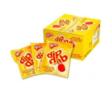 Bassett's Dip Dabs Sherbet & Lolly - 50 Pack