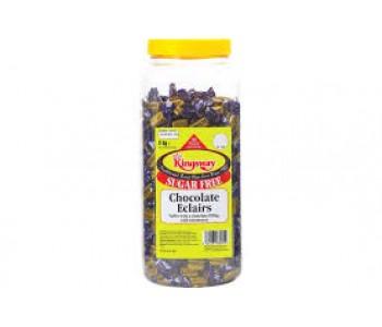 Sugar Free Chocolate Eclairs - 2Kg Jar