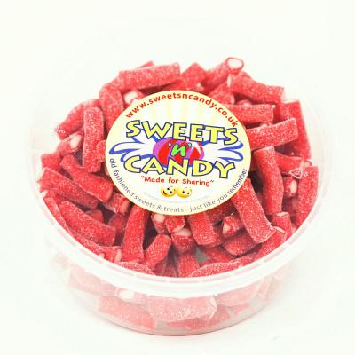 Fizzy Strawberry Bites - 1.5 Ltr Tub (600g)