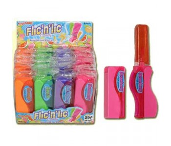 Flic 'n' Lic Candy Stick - 24 Pack