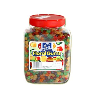 Squirrel Floral Gums - 2.25 Kg Jar