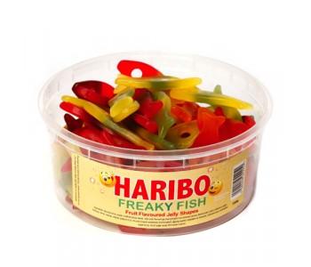 Haribo Freaky Fish - 750g Tub