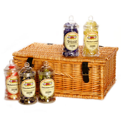 Traditional Sweets in Victorian Jars Gift Hamper - Large