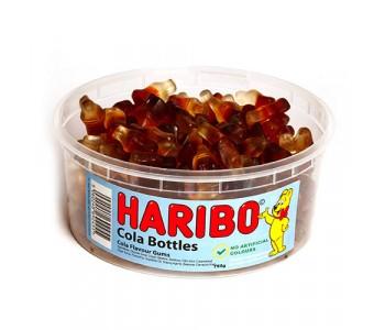 Haribo Cola Bottles - 750g Tub
