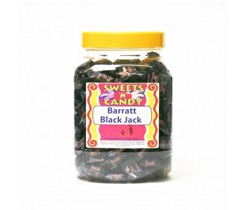 A Jar of Barratt's Black Jacks - 1.5Kg Jar