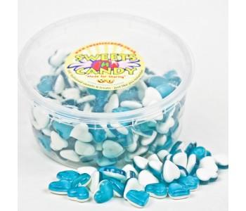 Haribo Blue Heart Throbs - 1.5Ltr Tub (750g)