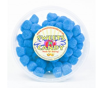 Sour Blue Raspberries - 1.5Ltr Tub (600g)
