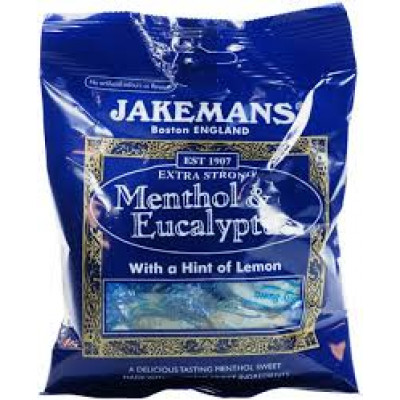 Jakemans Extra Strong Menthol & Eucalyptus - 10 Pack