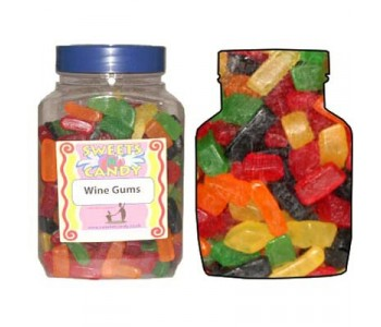 A Jar of Wine Gums - 1.8Kg Jar