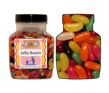 A Jar of Haribo Jelly Beans - 2 Kg Jar