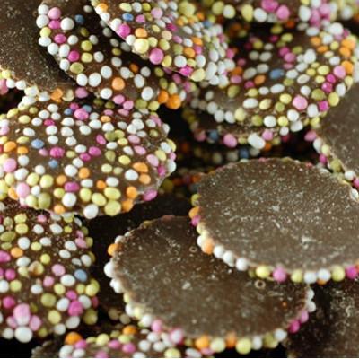 Milk Chocolate Jazzies - 3 Kg Bulk Pack