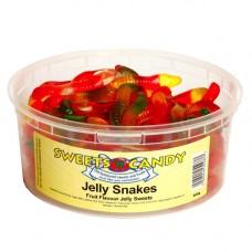 Jelly Snakes - 600g Tub