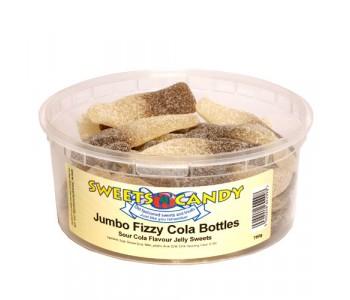 Jumbo Fizzy Cola Bottles - 750g Tub