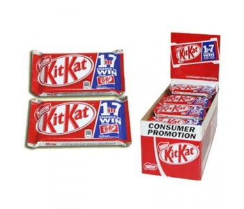 Kit Kat Chocolate Bars - 24 x 41g Pack