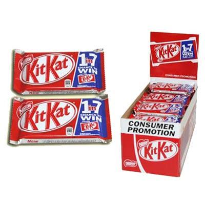 Kit Kat Chocolate Bars - 24 x 41g Pack
