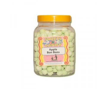 A Jar of Apple Flavoured Bon Bons - 1.5Kg Jar