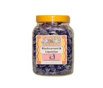 A Jar of Blackcurrant & Liquorice - 1.4 Kg Jar