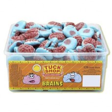Jelly Fruit Flavoured Brains - 120 Pack