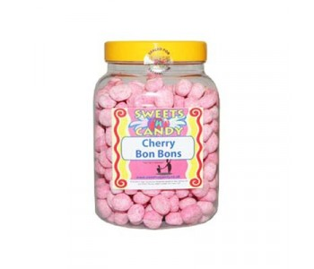 A Jar of Cherry Flavoured Bon Bons - 1.5Kg Jar