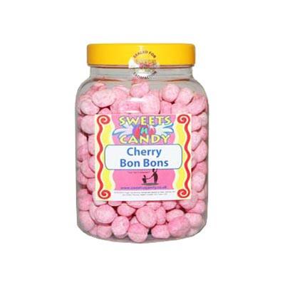 A Jar of Cherry Flavoured Bon Bons - 1.5Kg Jar