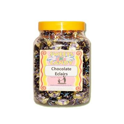 A Jar of Walkers Chocolate Eclairs - 1.2 Kg Jar