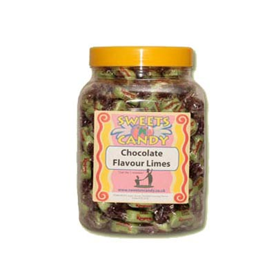 A Jar of Chocolate Limes - 1.5 Kg Jar