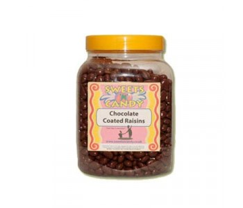 A Jar of Chocolate Coated Raisins - 2Kg Jar
