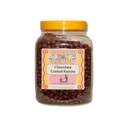 A Jar of Chocolate Coated Raisins - 2Kg Jar