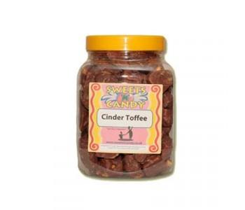 A Jar of Chocolate Cinder Toffee - 0.8Kg Jar