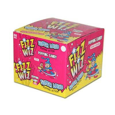 Fizz Wiz Popping Candy Cherry Flavour - 50 Pack