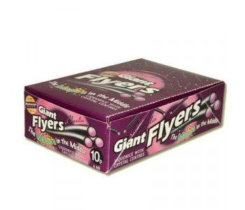 Liquorice Flyers With Blackcurrant Centre - 60 Pack