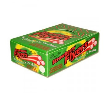 Liquorice Flyers With Strawberry Centre - 60 Pack