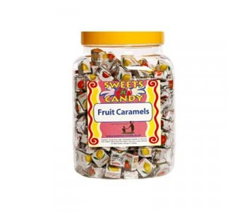 A Jar of Fruit Caramels - 1.5Kg  Jar