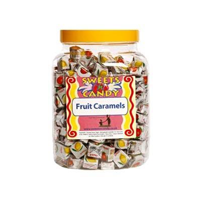 A Jar of Fruit Caramels - 1.5Kg  Jar