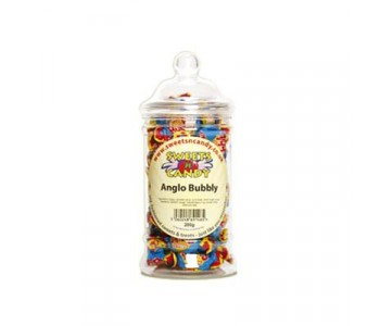 Anglo Bubbly Bubble Gum - 200g Victorian Jar