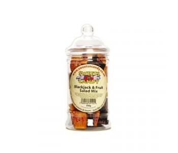 Blackjack and Fruit Salad Mix - 250g Victorian Jar