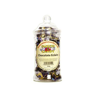 Chocolate Eclairs - 225g Victorian Jar