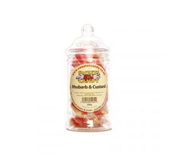 Rhubarb and Custard - 250g Victorian Jar