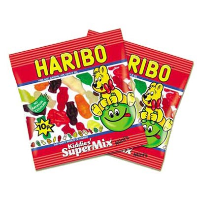 Haribo Supermix Minis - 100 Pack