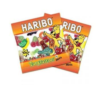 Haribo Tangfastics Minis - 100 Pack