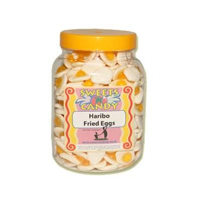 A Jar of Haribo Fried Eggs - 1.5.Kg