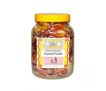 A Jar of Crystal Fruit Drops - 1.3Kg Jar