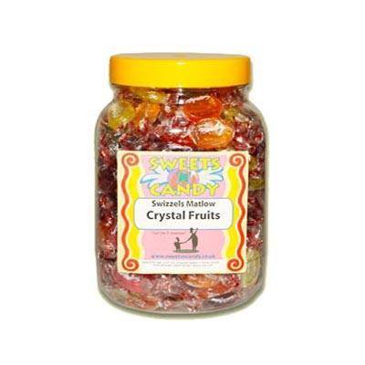 A Jar of Crystal Fruit Drops - 1.3Kg Jar
