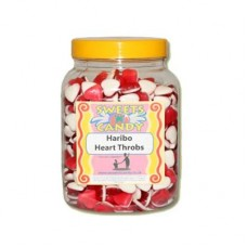 A Jar of Haribo Heart Throbs - 1.5 Kg Jar