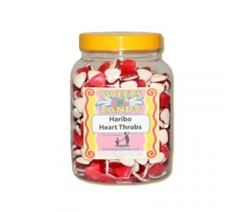 A Jar of Haribo Heart Throbs - 1.5 Kg Jar
